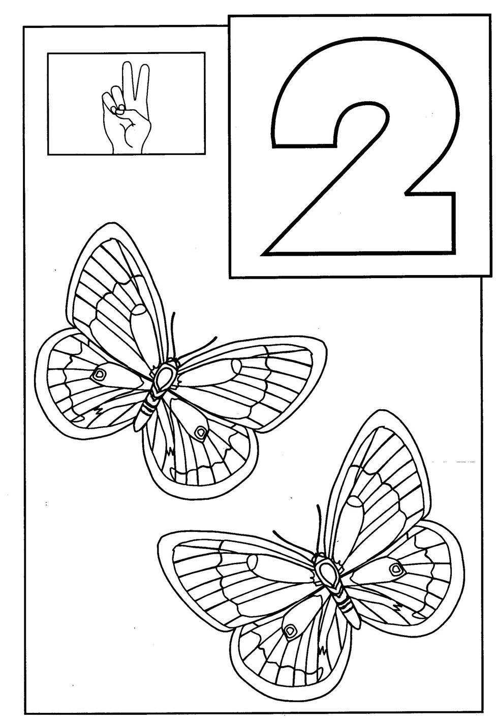 number 2 coloring pages for toddlers - number 2 coloring pages for toddlers murderthestout
