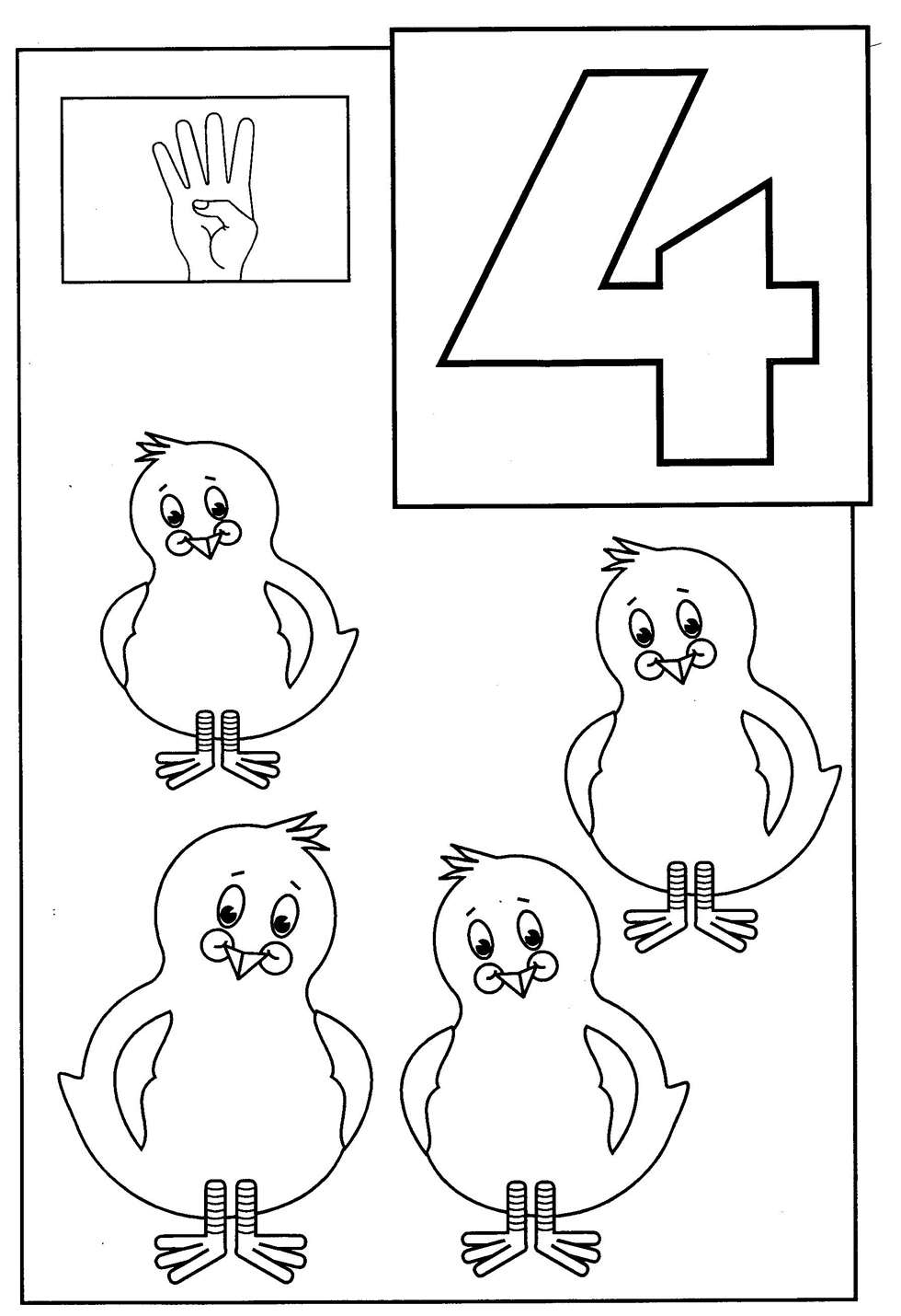 printable coloring pages number 4 - photo#31