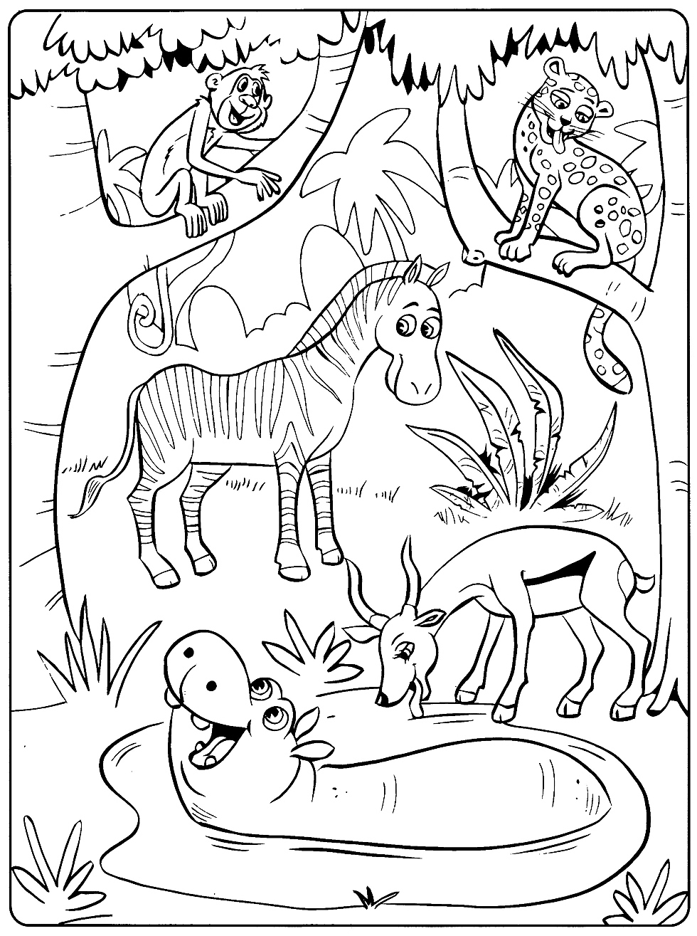 It is a graphic of Witty Toddler Coloring Pages