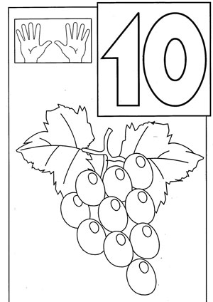 Graphs Coloring Pages