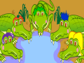 Five Hungry Crocodiles
