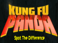 Kung Fu Panda: Spot The Difference