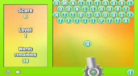 Screenshot - Bouncing Letters