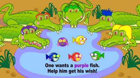 Screenshot - Five Hungry Crocodiles