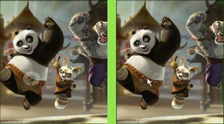 Screenshot - Kung Fu Panda: Spot The Difference