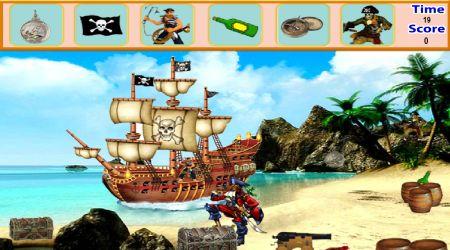 Screenshot - Pirate Island Hidden Objects