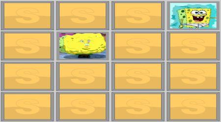 Screenshot - SpongeBob And Patrick Memory Game